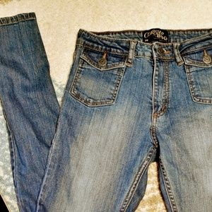 BDG Jeans - UO Courtshop x BDG Skinny Jeans ~10in Rise